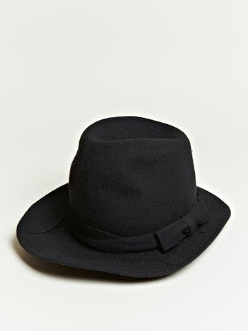 739aead20ba Comme Des Garcons Homme Plus Hat - Black High Hat