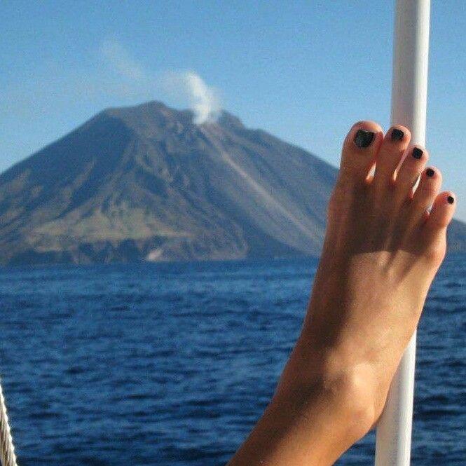 Il vulcano...... ( Stromboli)