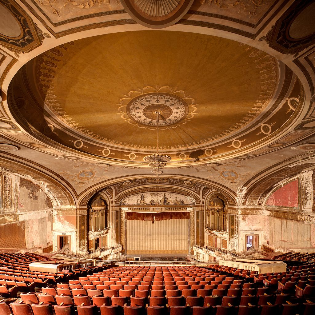 Majestic Theatre, Majestic, Abandoned Places