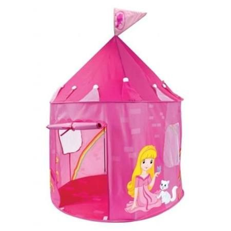 Brybelly TTNT-001 Girlu0027s Pink Princess Play Castle Pop Up Tent - Walmart.com  sc 1 st  Pinterest : kids pop up tent walmart - memphite.com