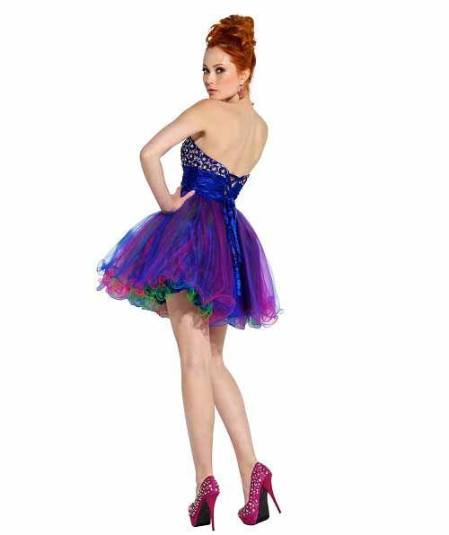 short+prom+dresses+under+100 | ... Cute short sequin puffy poofy ...