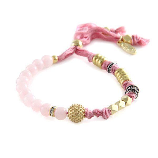Good Fortune Bracelet in Rose Quartz