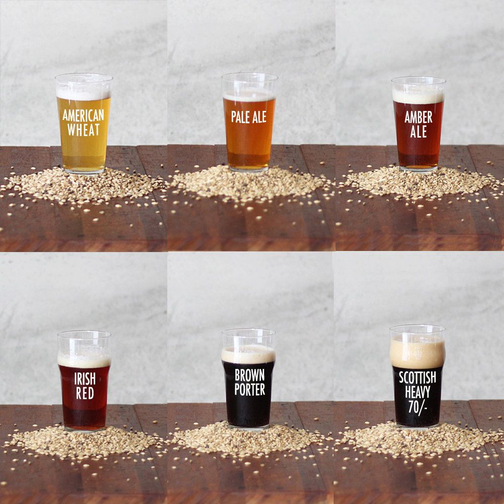 Pick Two 1 Gallon Biab Recipe Kits Brew In A Bag By Urbanbrewery 30 00 Beer Brewing Recipes Beer Recipes Beer Making Kits