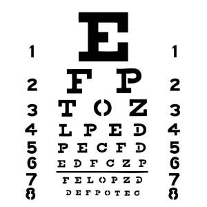 Eye Chart Template | Eye Chart Template From The Crafter S Workshop Love This Check