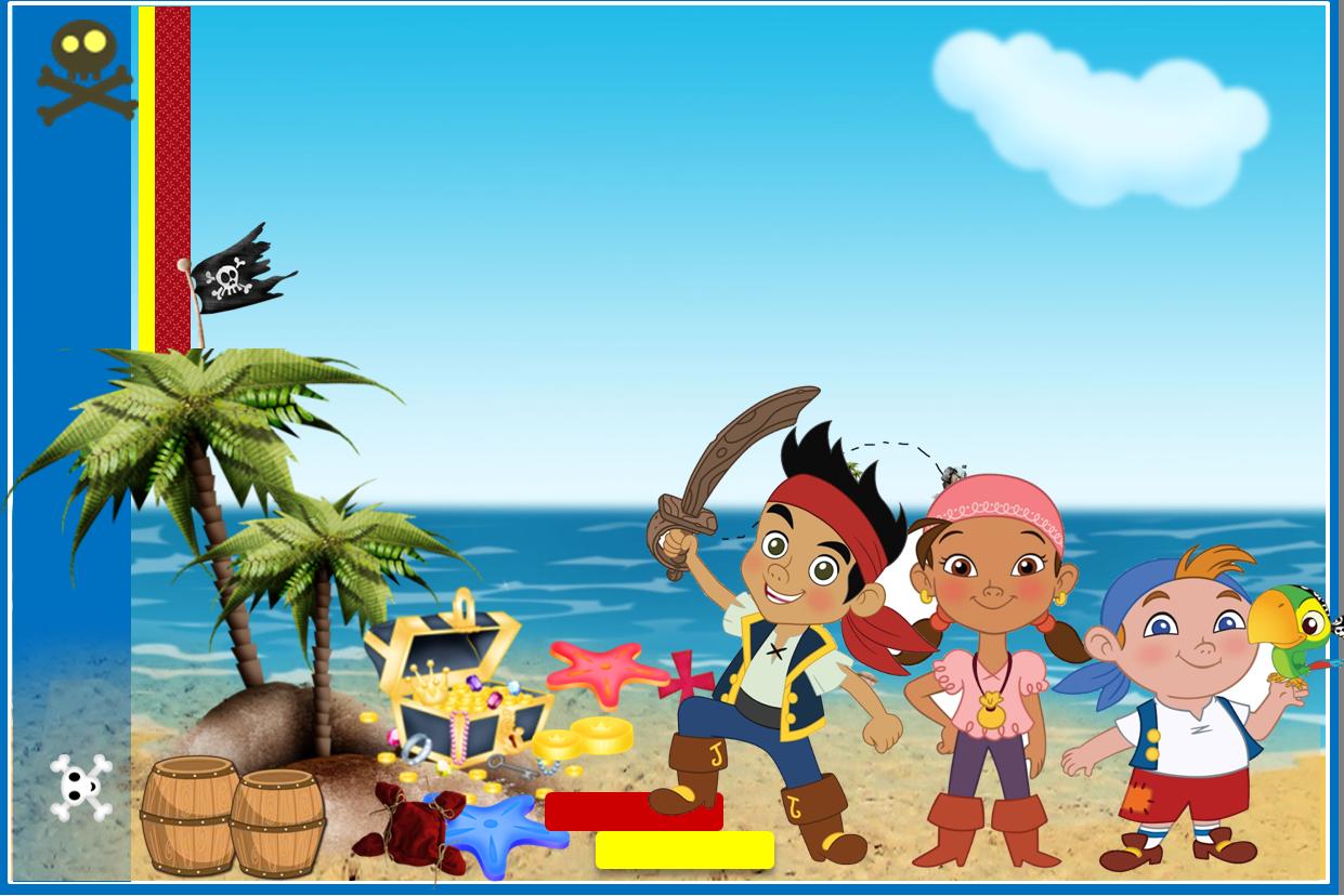 Jake y los Piratas: Etiquetas para Imprimir Gratis. | Pirates party ...