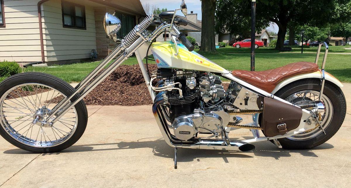1979 Kawasaki KZ1000 Chopper For Sale Via Rockerco