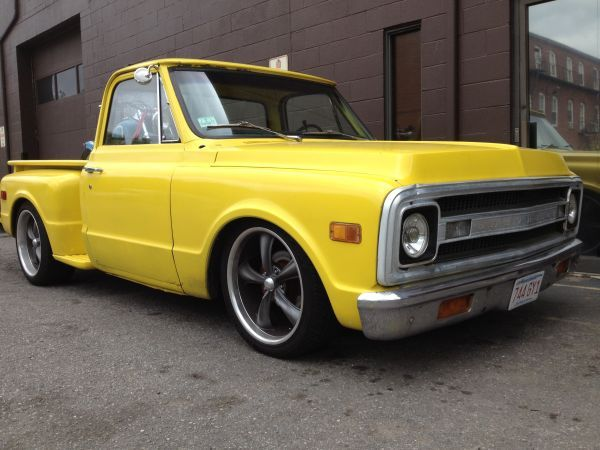 1969 C10 YELLOW STEP SIDE CUSTOM | 0 AUTOS MINI TRUCK / CAMIONETAS ...