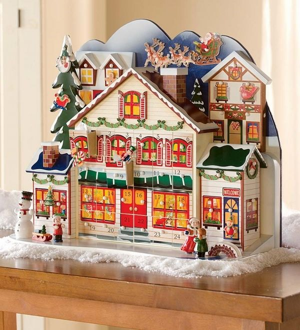 Amazing Wooden Advent Calendars Let