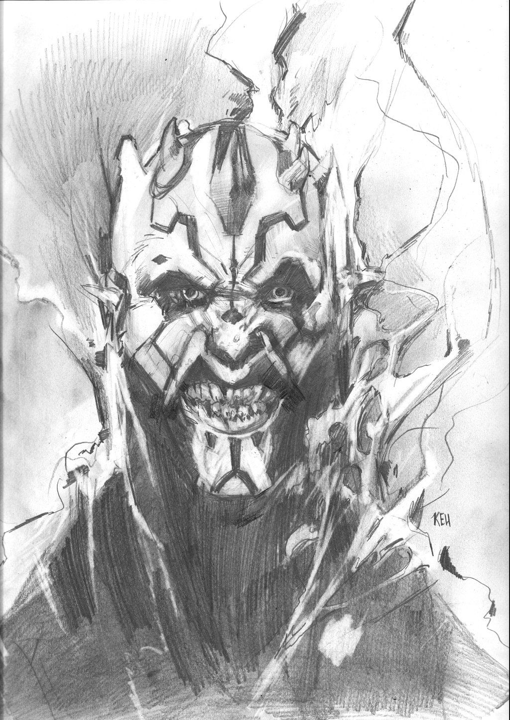 Darth Maul by Keu Cha