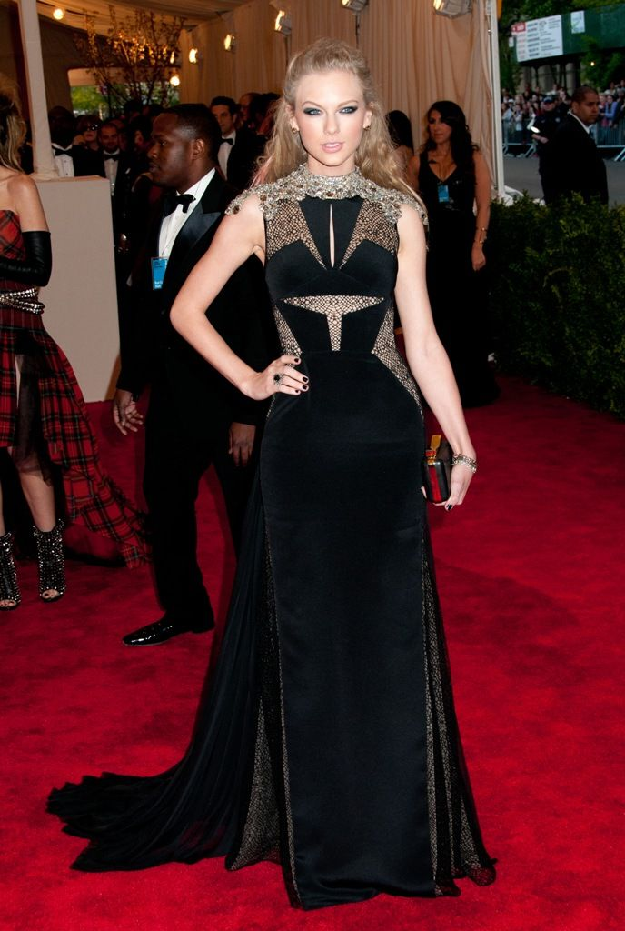 The 2013 Met Gala - Punk: Chaos to Couture   Taylor swift ...