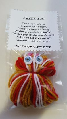 A LITTLE FIT Saying (2)  HANDMADE  Present  Stocking Filler  Gag Present  H #schrottwichtelnideen