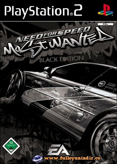 Need For Speed Most Wanted Black Edition Pal Playstation 2 Tek