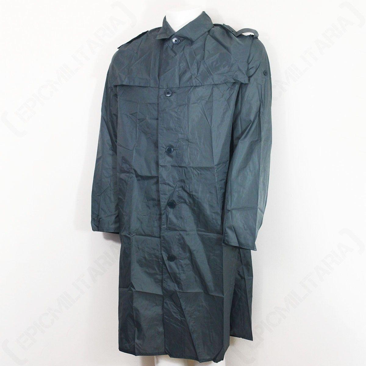 6b804856f Original Swiss Grey Raincoat - Front   Army Surplus Jackets and ...