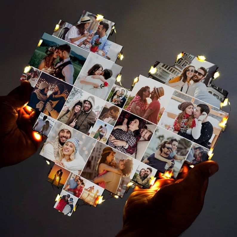 Photo Collage, Valentine Day Gift, Couple Gift, An