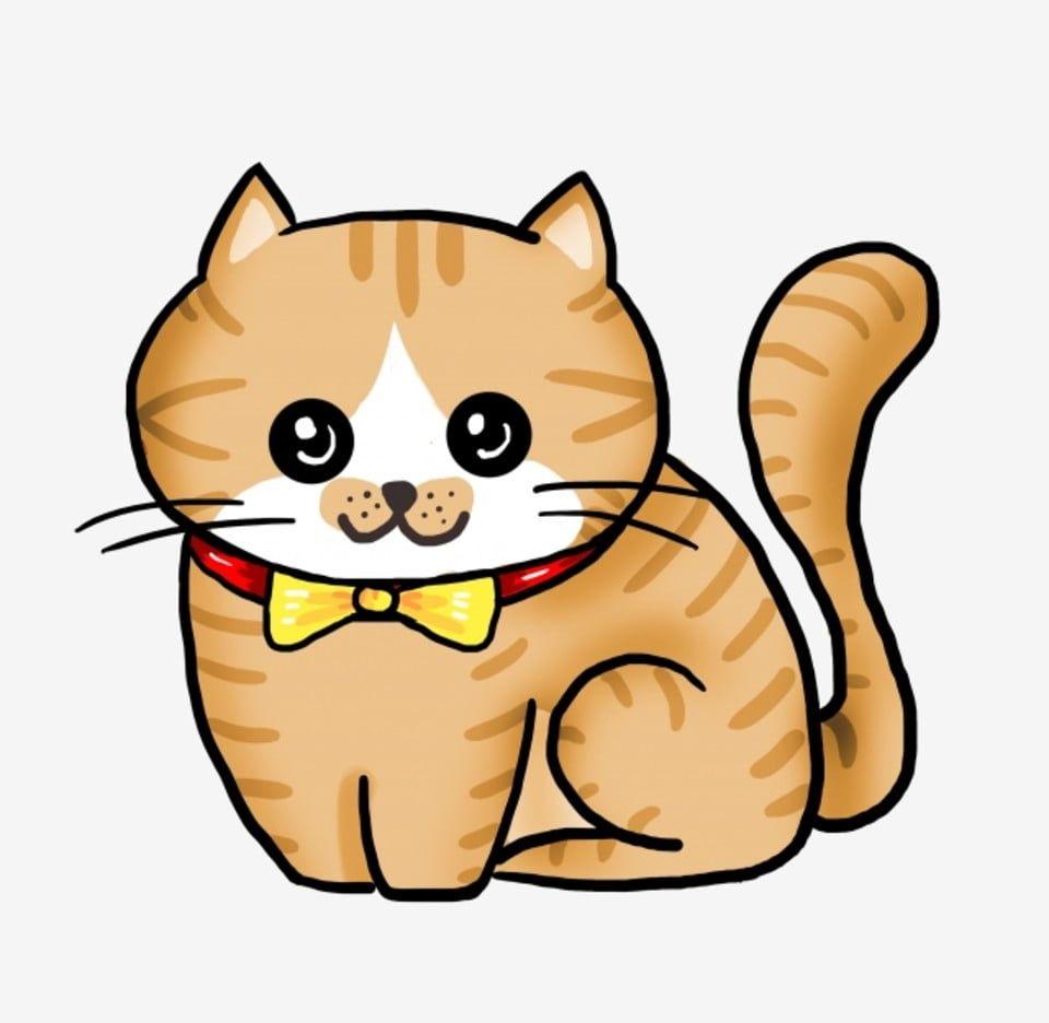 แมวแมวแมวแมวแมวแมว ภาพต ดปะแมว ส ตว แมวภาพ Png และ Psd สำหร บดาวน โหลดฟร Hand Painted Cat Cat Clipart Cat Illustration