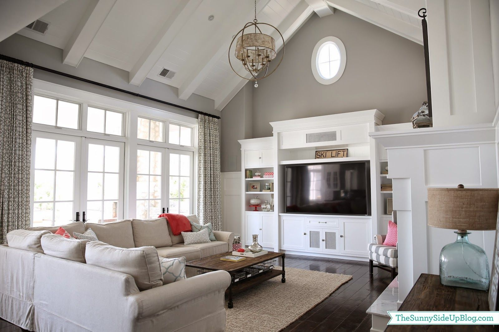 Lowdown On The Vaulted Ceiling