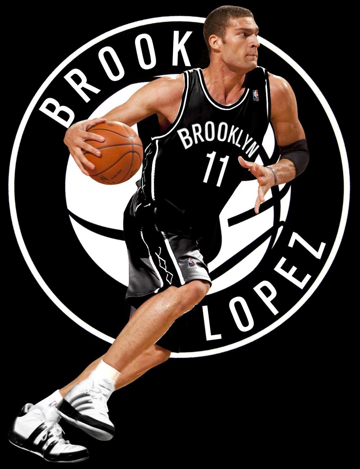 competitive price 4486c 7ead0 Brook Lopez - Brooklyn Nets | Brooklyn Nets | Nets jersey ...