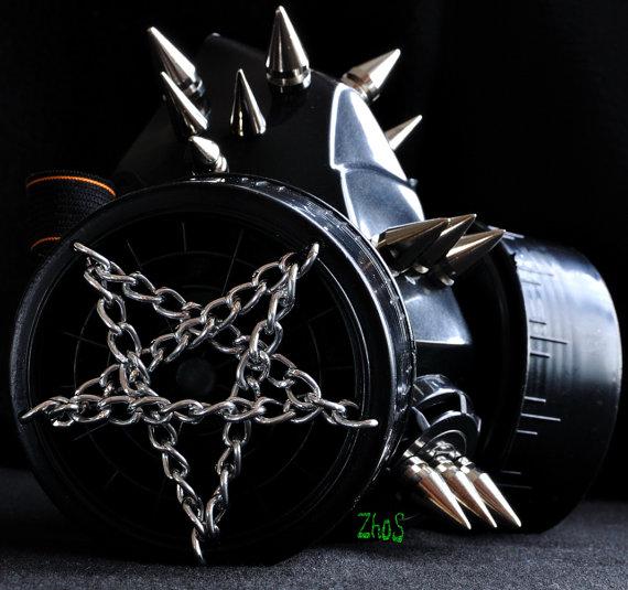 Cyber+Mask+Cyber+Goth+Respirator+Black++Gas+Mask++by+olnat31sun