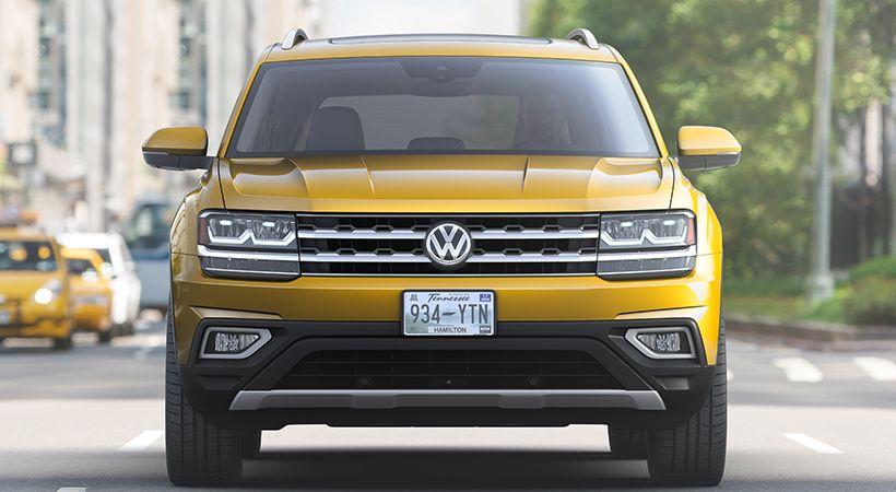 Volkswagen Atlas 2018 Por Fin Una Suv De 3 Filas Asientos Http