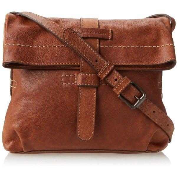 FRYE Artisan Fold Over Cross-Body Handbag ($297) ❤ liked on ...