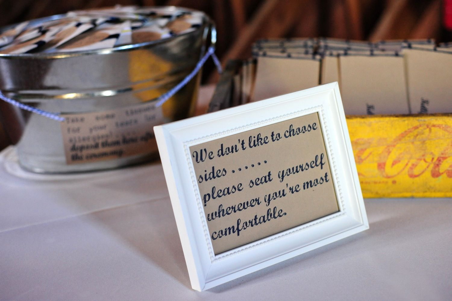 seat yourself sign | Wedding ideas! | Pinterest | Fun wedding ...