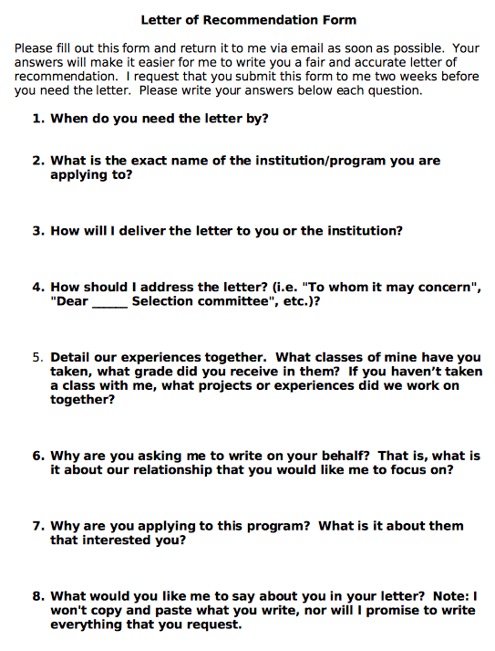 How to write a refernce for a phd student