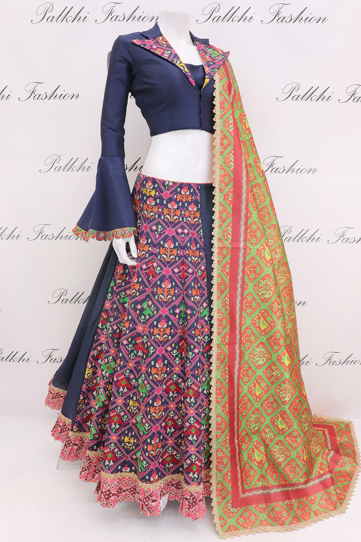 cd03a30393 Trendy Chaniya Choli Set With Beautiful Patola Designs | JOSA ...