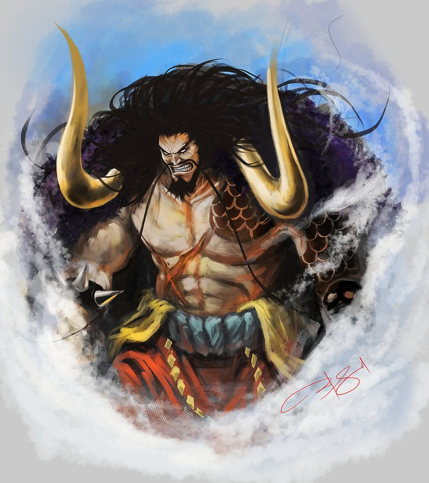 Image result for Kaido of the 100 Beast pinterest