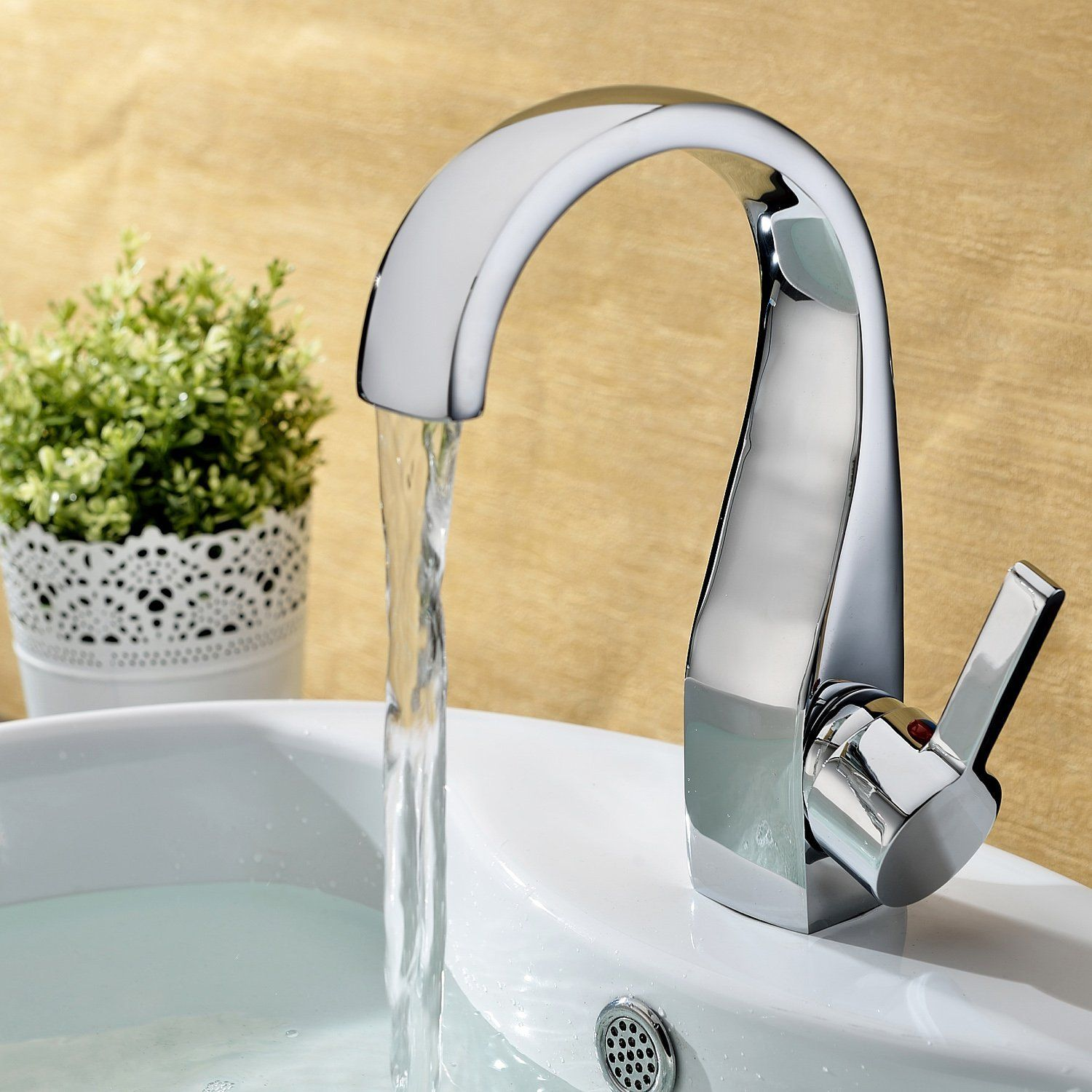 99 Lightinthebox Elegant Brass Bathroom Sink Faucet Chrome