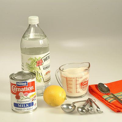 Sour Milk Made With Carnation Evaporated Milk Recipe Evaporated Milk Make Sour Cream Milk Recipes