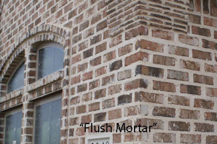 Flush Joint Exterior Brick Brick Brick And Stone