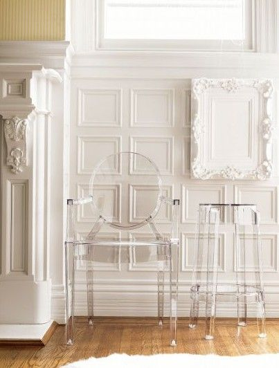 Nature Image Lucite Furniture Acrylic Furniture Lucite Chairs