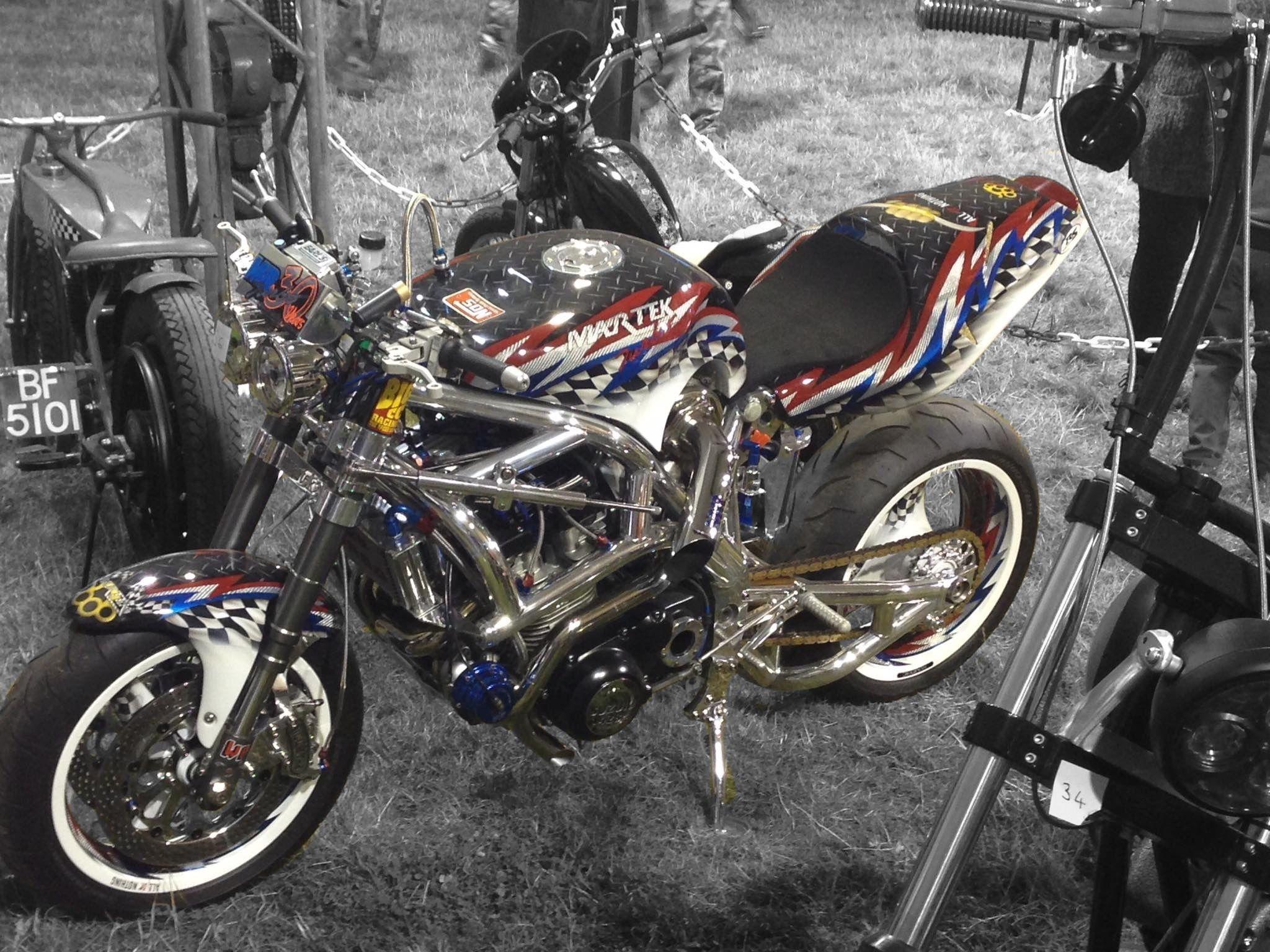 Pin By Sean Pattinson On Spondon N Martek Custom Framing Motorcycle Cafe Racer