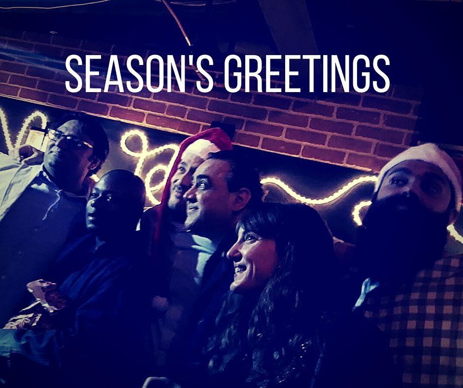 #SeasonsGreetings from all of us at #Spacefy