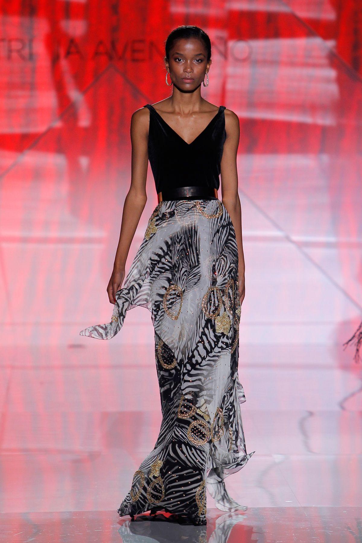 Vestido de fiesta Patricia Avendaño colección 2017 en Barcelona ...
