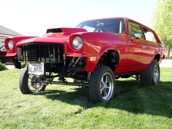 1973 chevy vega gt gasser goes to show you can make a. Black Bedroom Furniture Sets. Home Design Ideas