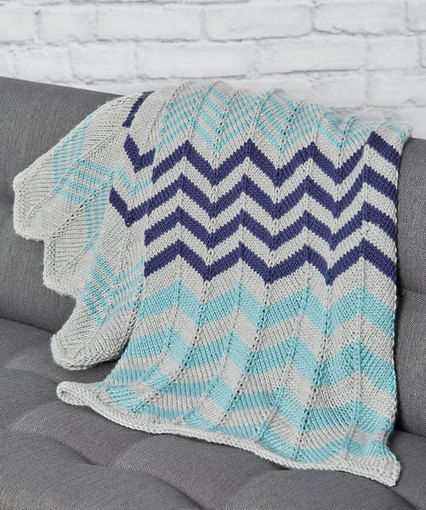 Relaxing Ripple Throw Free Pattern | Made with Yarn & ❤ ! | Pinterest