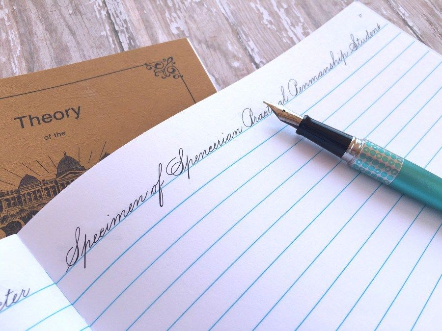 How I Practice My Handwriting: The Spencerian Method | Tipps