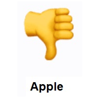 Thumbs Down Emoji Emoji Design Thumbs Down Emoji
