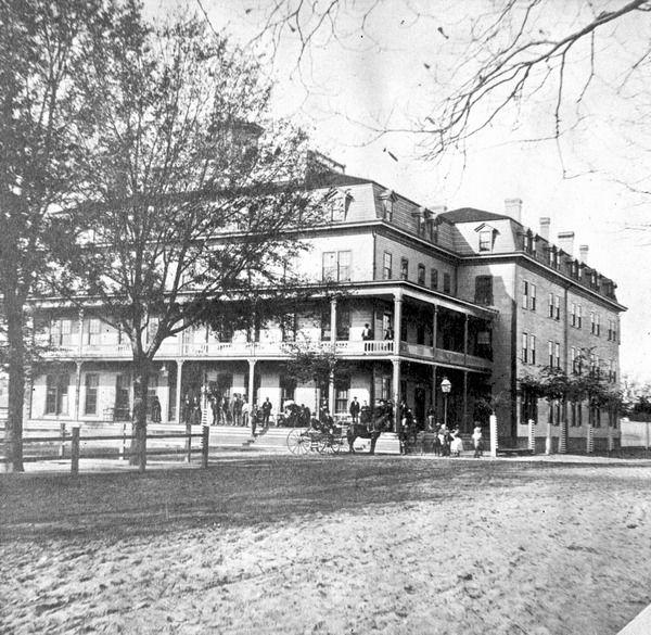 Florida Memory View Of St James Hotel Jacksonville Florida