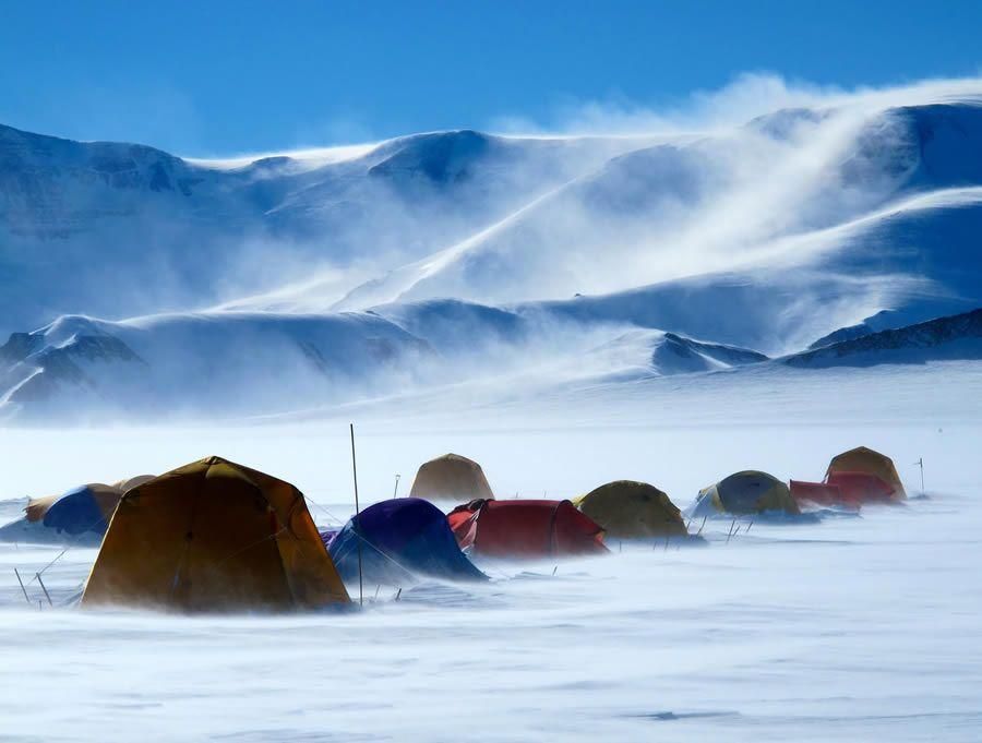 Tent City at CTAM Antarctica