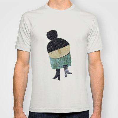 Little girl T-shirt by yael frankel - $18.00