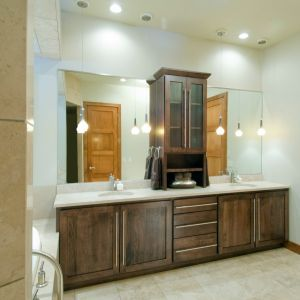 Merveilleux Custom Cabinets; Custom Cabinetry; Bathroom Cabinetry; Cabinets In Bath;  Vanities; Double