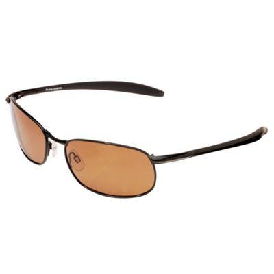 b21ddbe7fc6 XPS by Fisherman Eyewear Blacktip Polarized Sunglasses - Black Metal Brown