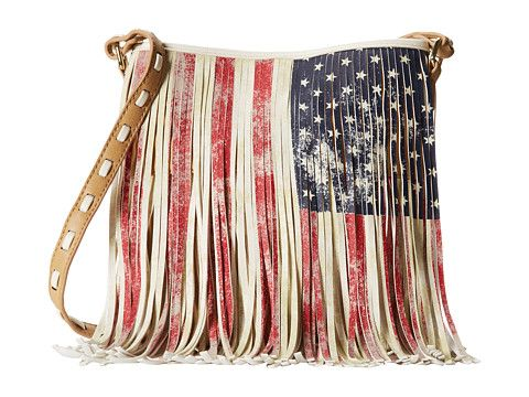 Steve Madden Blfringe Cross Body Flag - Zappos.com Free Shipping BOTH Ways US Flag bag