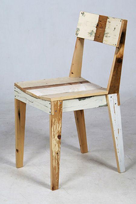 Chaise Recup De Planches