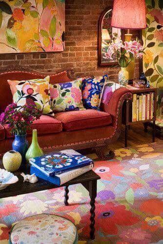 Living room Wohnzimmer Rot Braun Pinterest Sala de estar, Para - wohnzimmer braun rot