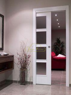 venta de puertas correderas en maderas y lacadas blancas 155 - Puertas Correderas Blancas