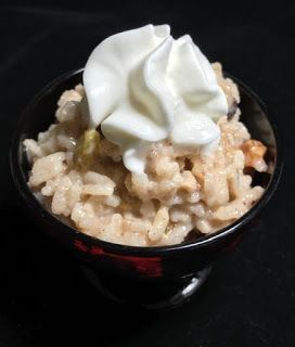 Photo of Micheles Woman Cave Instant Pot Creamy Raisin Rice Pudding