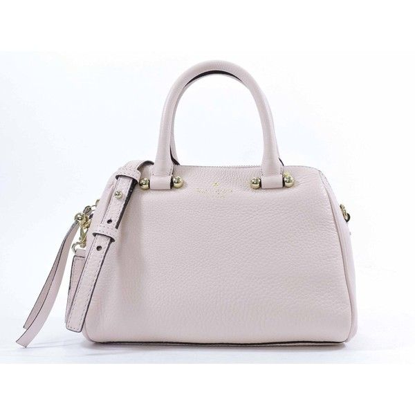 Kate Spade New York Charles Street Mini Brantley Convertible Satchel (210 CAD) ❤ liked on Polyvore featuring bags, handbags, kate spade satchel, pink handbags, pink satchel, mini purse and convertible purse